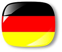 Bandeiras Paises Alemanha -  200px - 72dpi